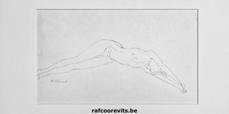 Tekening uit het Prentenkabinet Raf Coorevits © 2018 Raf Coorevits, http://rafcoorevits.be