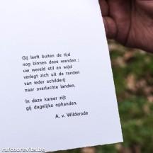 Illustratie voor kaart Anton van Wilderode. (Archief Prentenkabinet Raf Coorevits, z.d.)